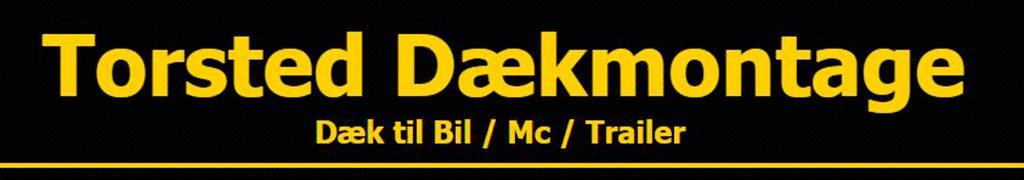 Torsted Dækmontage logo