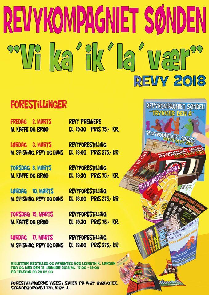 Revy 2018 Flyer